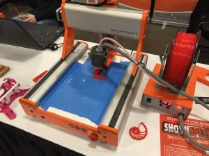 Stepcraft 300 3D Printing