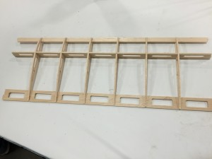 Model Wing on Stepcraft CNC